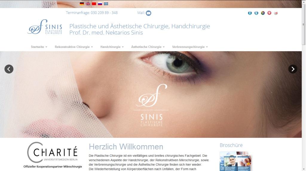 portfolio Sinis-plastische-chirurgie.de
